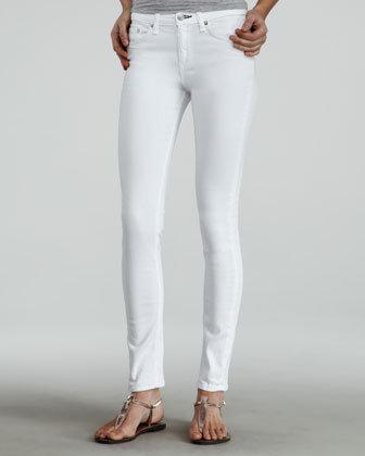 Rag & Bone Skinny Jeans, White