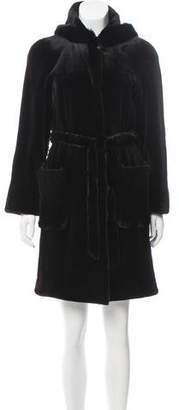Anna Sui Sui by Sheared Mink Coat