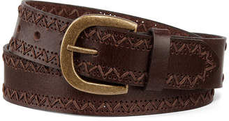 JCPenney MIXIT Mixit Stitch Edge Belt
