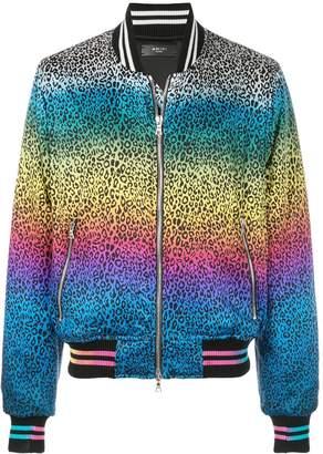 Amiri animal print bomber jacket
