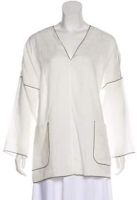 Max Mara Linen Tunic Top