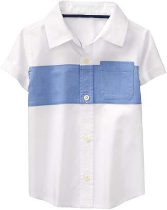 Crazy 8 Crazy8 Toddler Colorblock Shirt