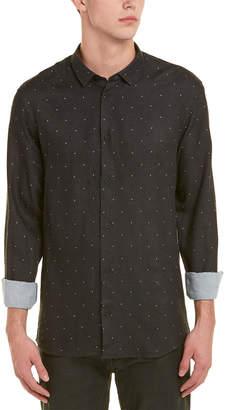 IRO Teron Wool-Blend Woven Shirt