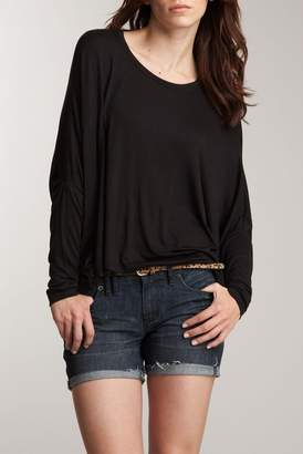 24\u002F7 Comfort Long Sleeve Oversized Dolman Shirt (Regular & Plus)