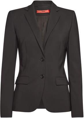 f3bec39ed Hugo Boss Womens Black Blazer - ShopStyle UK