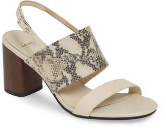 Vagabond Shoemakers Carol Snake Print Sandal