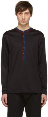 Paul Smith Black Multi Stripe Henley