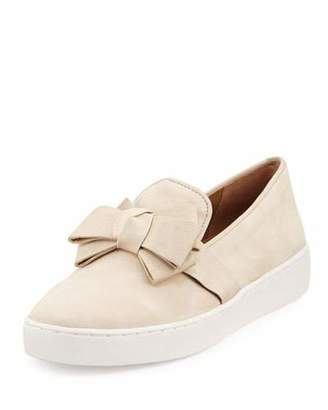 Michael Kors Val Bow Skate Sneaker $295 thestylecure.com