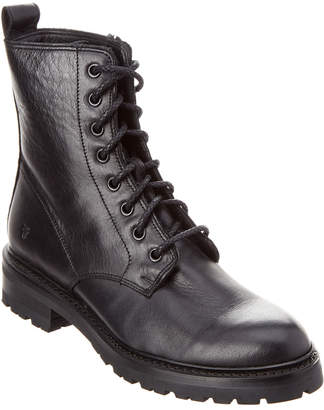 Frye Julie Combat Leather Boot