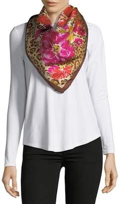 Saks Fifth Avenue Women's Blossom-Print Silk Foulard