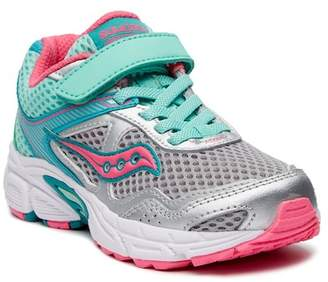 Saucony Cohesion 10 AC Sneaker (Little Kid) - Wide Width Available