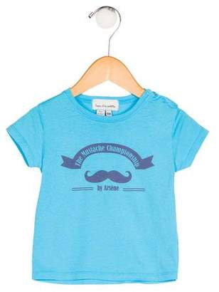 Arsène et les Pipelettes Boys' Printed Knit Shirt
