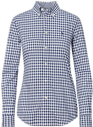 Polo Ralph Lauren Slim Fit Gingham Shirt $98.50 thestylecure.com