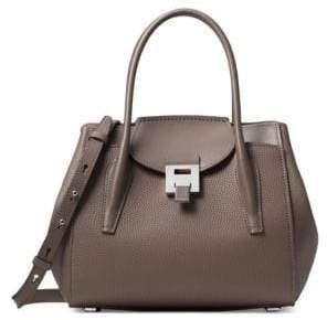 Michael Kors MediumBandcroft Leather Satchel