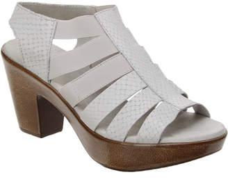 Munro American Cookie Leather Platform Sandal