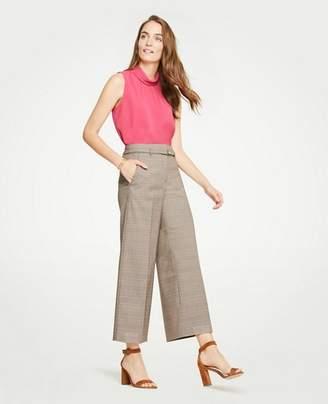 Ann Taylor The Petite Plaid Marina Pant