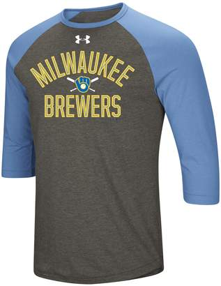 Under Armour Men's Milwaukee Brewers Tee