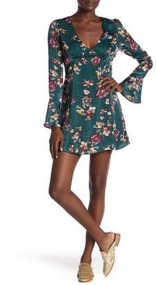 Honeybelle Honey Belle Long Sleeve Floral Dress