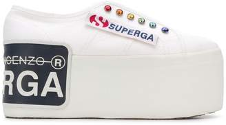Marco De Vincenzo Sneakers Superga® x platform sneakers