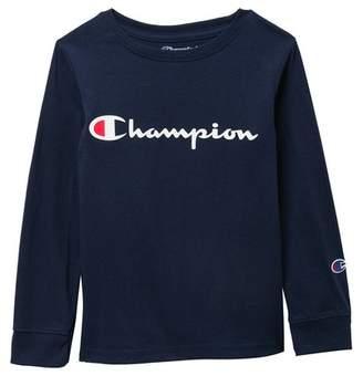 Champion Heritage Long Sleeve Tee (Toddler & Little Boys)