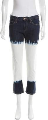 Etoile Isabel Marant Low-Rise Dip-Dye Jeans