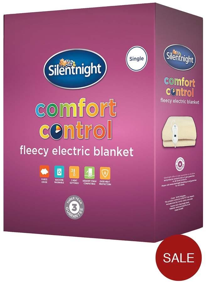 Fleece Comfort Control Electric Blanket