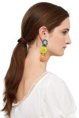 Venessa Arizaga Happy Flowers Earrings