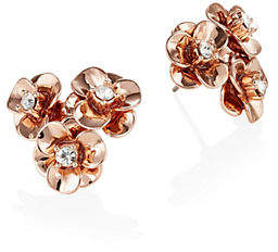 Kate Spade Shine On Crystal Flower Cluster Stud Earrings