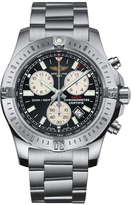 Staineless Steel Colt Chronograph Watch 44mm