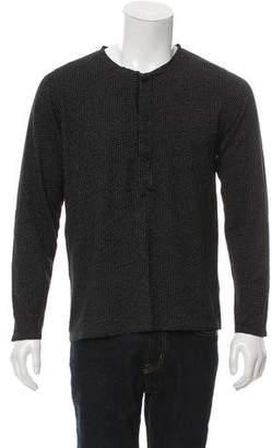 YMC Patterned Henley Sweater