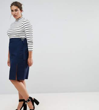 Asos Exclusive Clean Pencil Skirt in Crepe