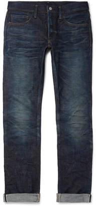 Co Fabric-Brand & Doran Slim-Fit Selvedge Denim Jeans