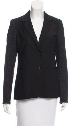 Derek Lam Knit-Paneled Wool Blazer $130 thestylecure.com