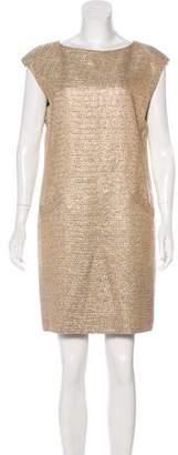 Michael Kors Metallic Mini Dress