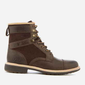 ... UGG Men's Magnusson Grain Leather Lace Up Boots