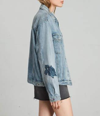 AllSaints Rose Oversize Jacket