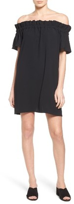 Petite Women's Pleione Off The Shoulder Dress $69 thestylecure.com