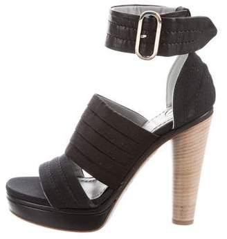 Reed Krakoff Platform Ankle Strap Sandals