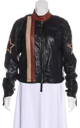 Pre-Owned at TheRealReal · Parajumpers Leather Moto Jacket