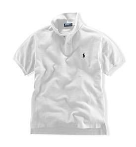 Polo Ralph Lauren Solid Mesh Polo Shirt (2-7 Years)