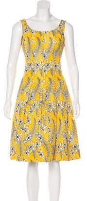 Oscar de la Renta 2016 Floral Dress