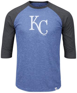 Majestic Men's Big & Tall Kansas City Royals Grueling Raglan T-Shirt $38 thestylecure.com