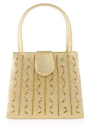 Farfalla Womens 90227 Clutch Gold