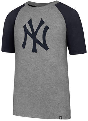 '47 New York Yankees Super Rival Raglan T-Shirt, Big Boys (8-20)