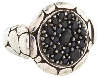 John Hardy Kali Sapphire Pure Lava Fire Ring