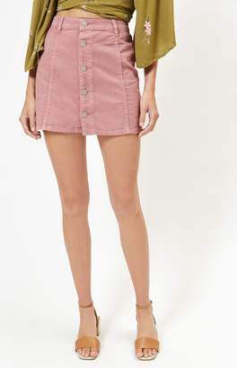 Billabong Push My Buttons Skirt