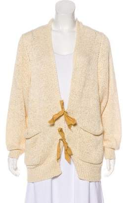 3.1 Phillip Lim Knit Long Sleeve Cardigan