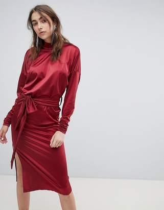 Gestuz high neck slinky dress