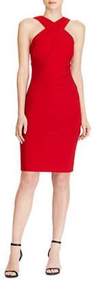 Lauren Ralph Lauren Crisscross Jersey Dress