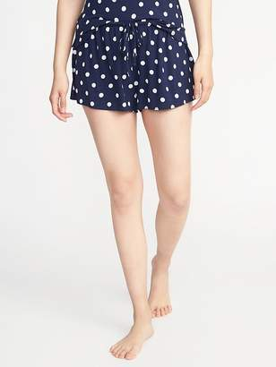 Old Navy Drawstring Jersey Lounge Shorts for Women